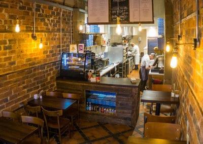 Inside Lamora Pizzeria Sauchiehall Street Glasgow