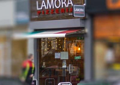 Lamora Pizzeria Sauchiehall Street Glasgow